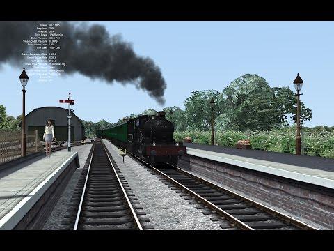 Railworks Race #1 - Minehead to Bishops Lydeard