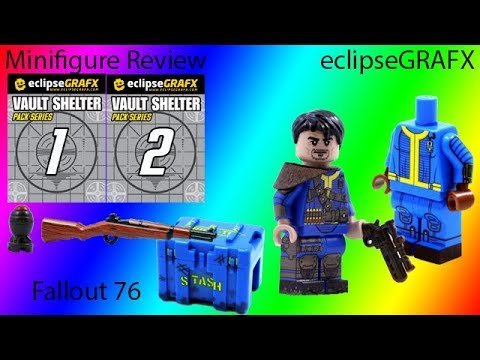 Custom Lego Minifigure Review: eclipseGRAFX Fallout 76
