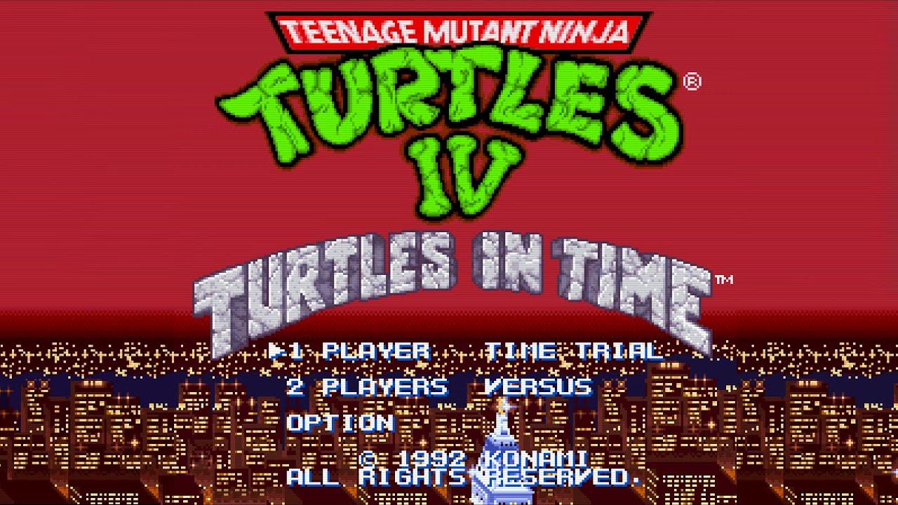 Teenage Mutant Ninja Turtles IV: Turtles in Time - SNES - Alvanista
