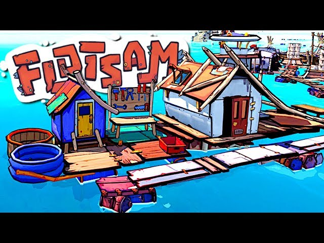 I Built a Floating Industrial Zone in a World Destroyed By Global Warming - Flotsam
