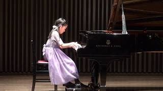 杉並区Gクレフピアノスクール2018年12月発表会 小5 グリーグ 作曲 ホルベルク組曲より 「プレリュード」