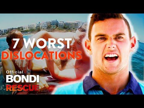 Top 7 Worst Dislocations On Bondi Rescue Youtube