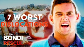 Top 7 Worst DISLOCATIONS on Bondi Rescue