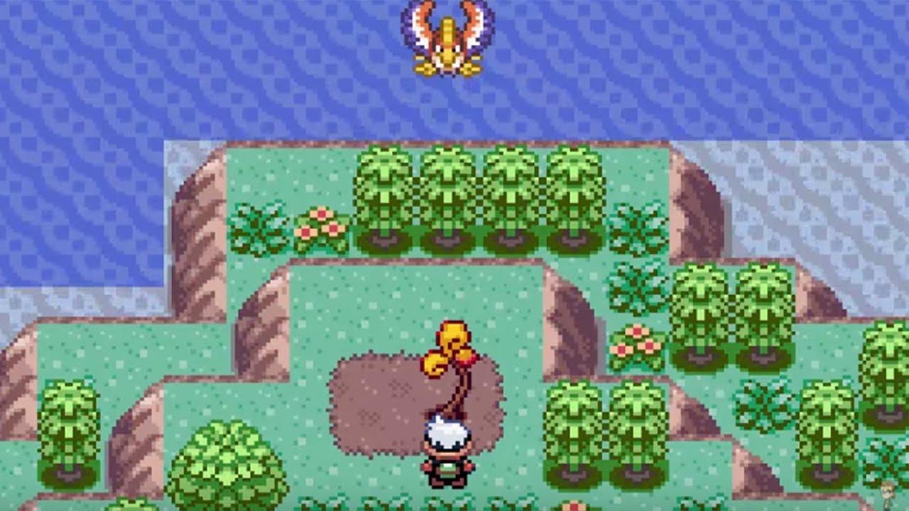 Isla Espejismo Pokemon Rubi - YouTube