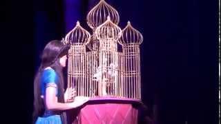 Aladdin A Musical Spectacular - Jasmine (Eileen Aurelia) Singing 'To Be Free' (HD)