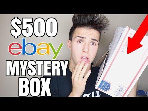 I BOUGHT A $500 MYSTERY BOX FROM EBAY!
