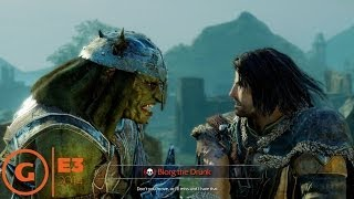 Middle-earth: Shadow of Mordor Nemesis System - E3 2014 Trailer