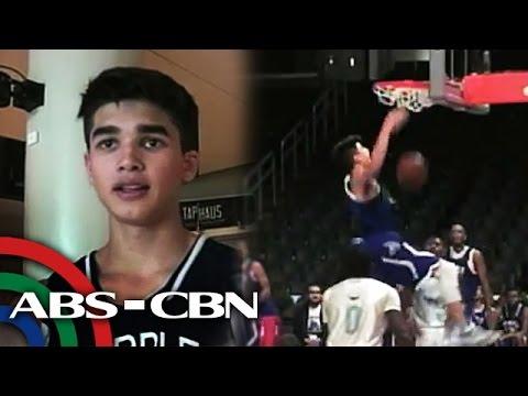 Kobe Paras nagpasiklab sa Staples Center