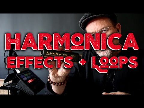 How To: Harmonica Effects + Looping (Brendan Power)