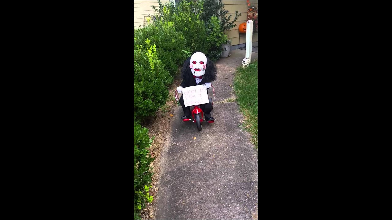 Saw costume toddler  sc 1 st  YouTube & Saw costume toddler - YouTube