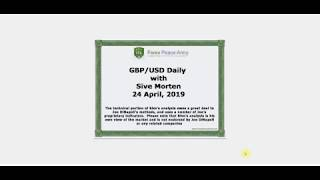 ForexPeaceArmy | Sive Morten Daily, GBP/USD 04.24.19