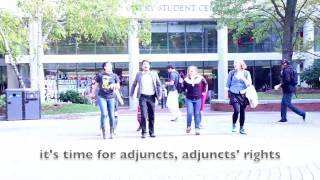 """Thriller"" Flashmob at Northeastern University - Students stand in solidarity with Adjunct Faculty"