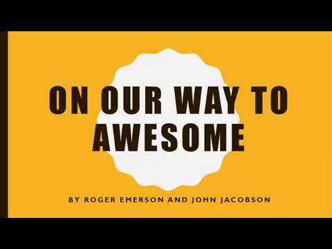 On Our Way to Awesome Lyric Video (Music Express)