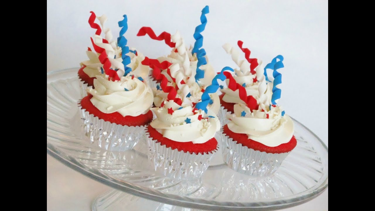 Fourth Of July Cakes Or Cupcakes