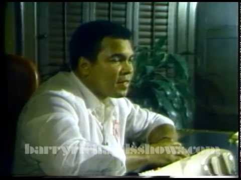 Muhammed Ali on Barry Richards Wrestling Show 1986