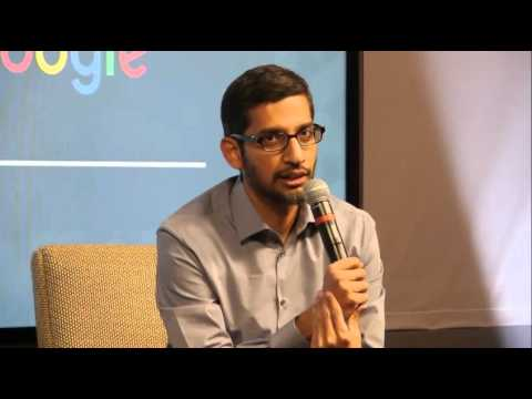 151215_Google CEO Sundar Pichai_talk show in Seoul