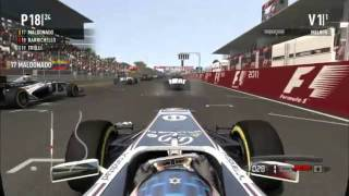 F1 2011 - vídeo análise UOL Jogos