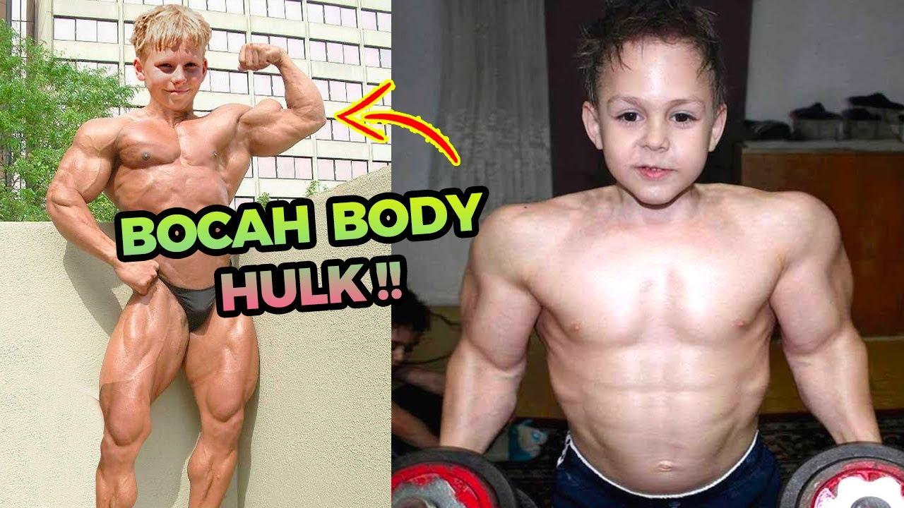 5 Anak Terkuat Di Dunia Dengan Otot Super Gede