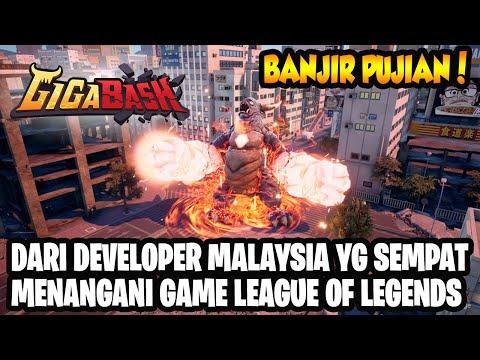 Game Buatan Developer Malaysia Yang Dipuji Gamer Luar Negeri! GIGABASH