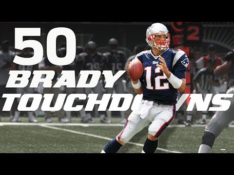 All 50 Tom Brady Touchdown Passes from his 2007 Season! | #CountdownToKickoff | NFL Highlights