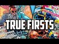 NEW SERIES - TRUE FIRSTS (In Comic Books) - Speculation, Sales & Investing