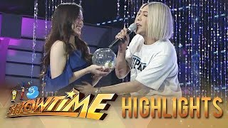 "It's Showtime Miss Q & A: Vice tries to heal ""Ate Girl"""