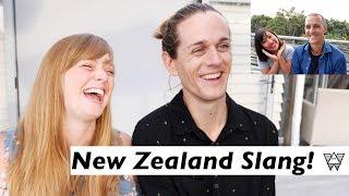 New Zealand Accent Challenge - Americans Try Kiwi Slang! 🇳🇿😳