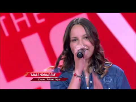 Ana Pieri canta 'Malandragem' no The Voice Kids - Audições|1ª Temporada