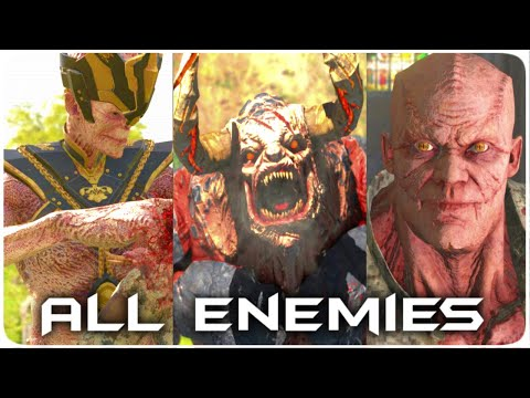 SERIOUS SAM 4 All Monsters [All Regular Enemies] NEW [HD]  
