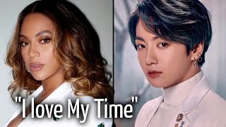 Download lagu Beyoncé Says She Loves Jungkook's 'My Time'!