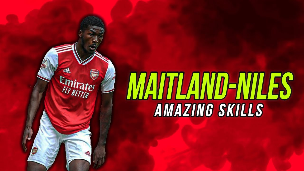 best sneakers 02394 6bec3 Ainsley Maitland-Niles - Composed - Amazing Skills, Tackles, Assists &  Goals 2019
