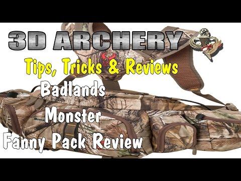 3D Archery - Badlands Monster Fanny Pack Review