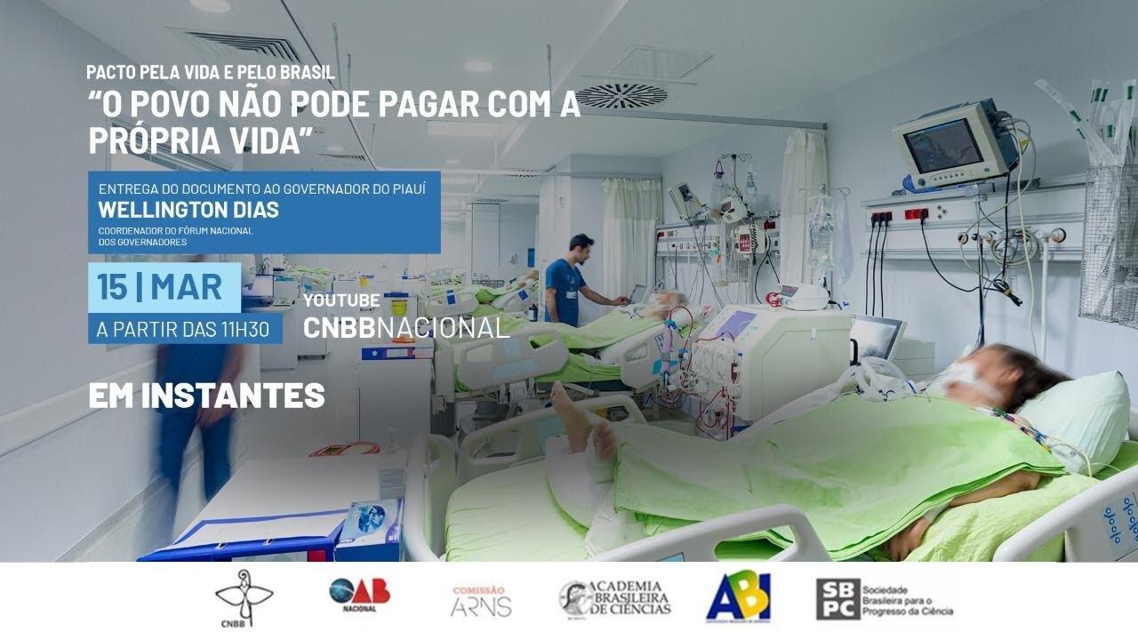 Maior responsável pela tragédia da pandemia é Bolsonaro', afirmam CNBB, governadores e entidades - Rede Brasil Atual