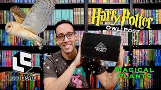 Unboxing HARRY POTTER Loot Crate Wizarding World Box | Magical Plants