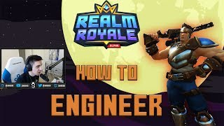 SHROUD - HOW TO ENGINEER!? Realm Royale #1