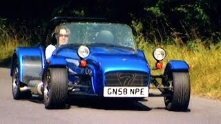 Can You Use A Caterham As An Everyday Car TBT Fifth Gear смотреть