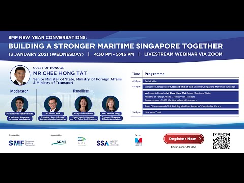 SMF New Year Conversations: Building A Stronger Maritime Singapore Together
