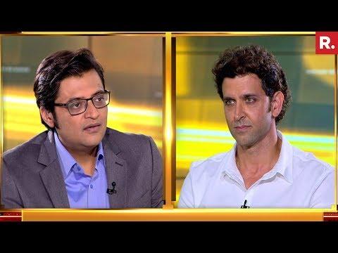 Hrithik Roshan Speaks To Arnab Goswami - Teaser 1