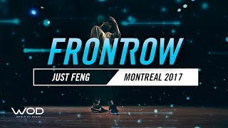 Just Feng | FrontRow | World of Dance Montreal Qualifier 2017 | #WODMTL17