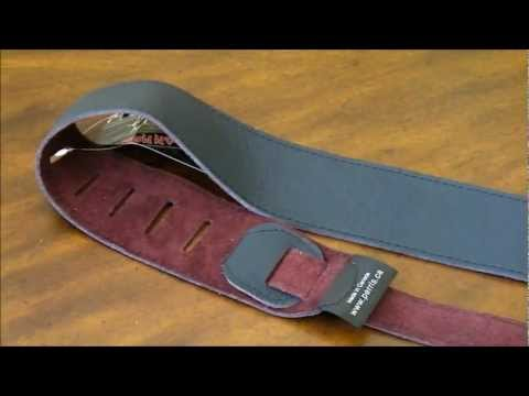 Perri's Leather/Suede Guitar Strap Unboxing!