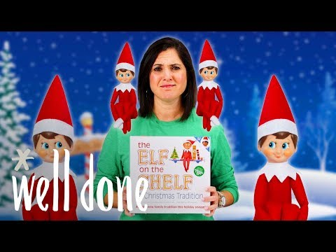 Mom Vs. Elf On The Shelf: See The Creative Ways This Mom Takes On The Elf | Mom Vs | Well Done