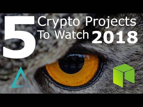5 Crypto Companies To Keey An Eye 👁️ On In 2018