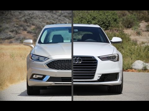2017 Ford Fusion Platinum Vs 2016 Audi A6 Quattro