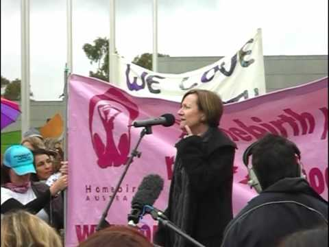 Homebirth Rally - Canberra