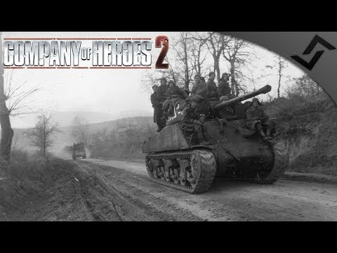 Sherman 76's in 1941.. RIGHT - Company of Heroes 2 - Theatre of War: Barbarossa COOP 5