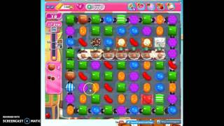 Candy Crush Level 775 help w/audio tips, hints, tricks