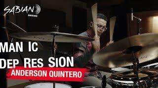 SABIAN Artist Anderson Quintero Performs Manic Depression (NEW AAX ALERT!)
