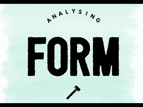 Analysing Form in Poetry: Some Tips for Next Week!