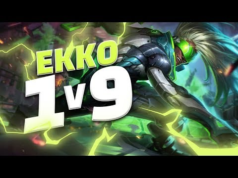 Shiphtur | THE MOST INSANE EKKO 1V9 EVER PLAYED!!