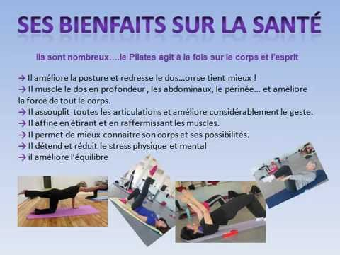 bienfaits sur la sant et principes du pilates youtube. Black Bedroom Furniture Sets. Home Design Ideas